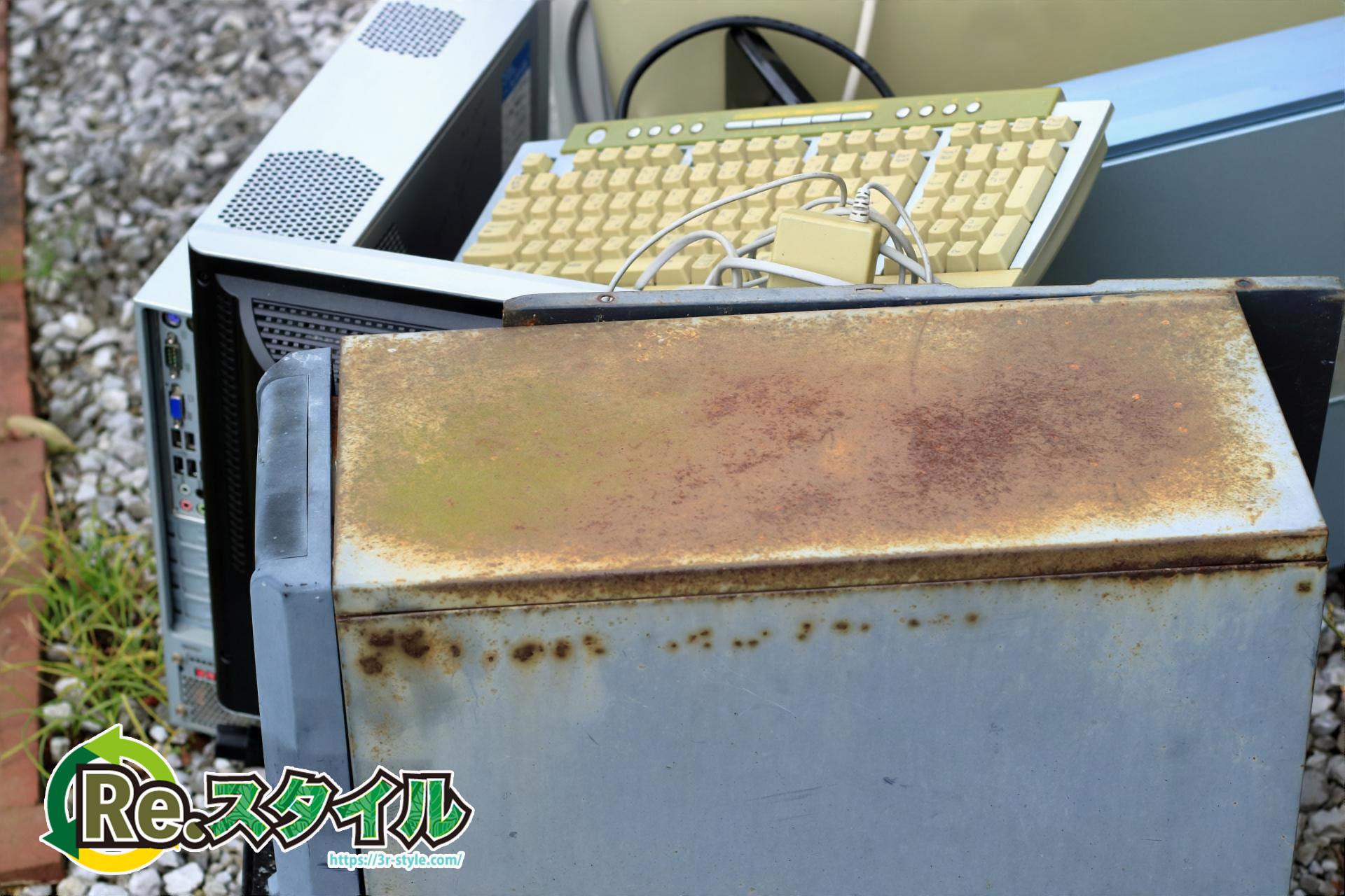 昭島市ではパソコンは「粗大ごみ」や「不燃ごみ」に出せません